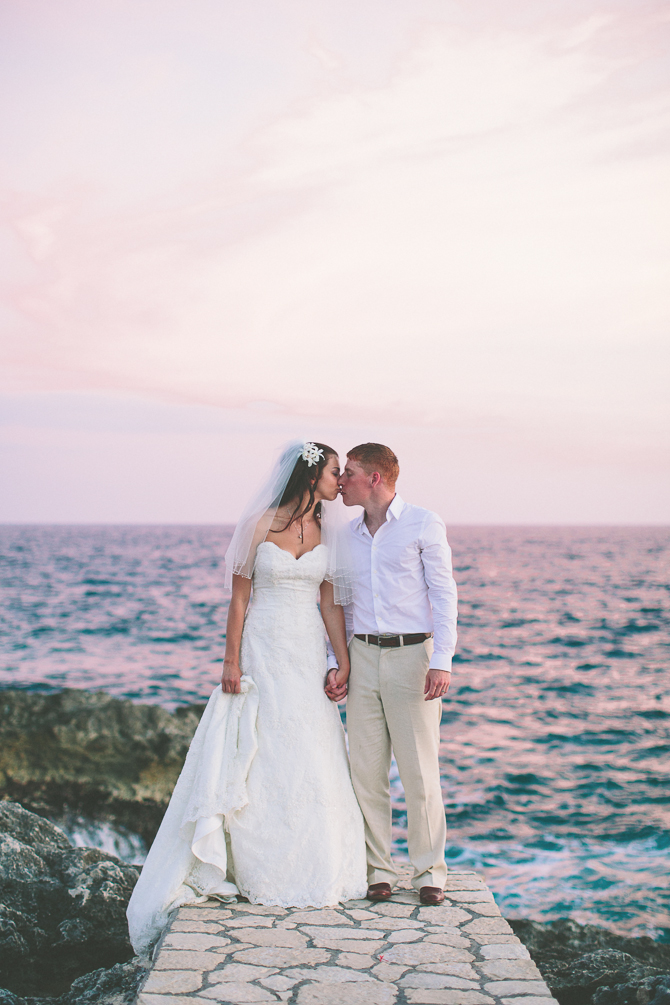 boostromblog-621 Brendan & Amanda // Destination Wedding // Moon Dance Cliffs, Jamaica wedding
