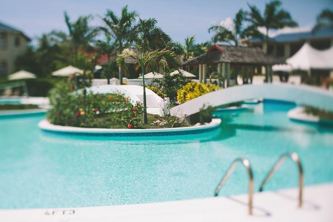 pool-1 Brendan & Amanda // Destination Wedding // Moon Dance Cliffs, Jamaica wedding