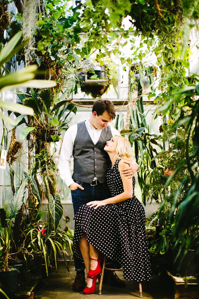 lewis-2 Charlotte & Tim // Botanical Engagement  engagement